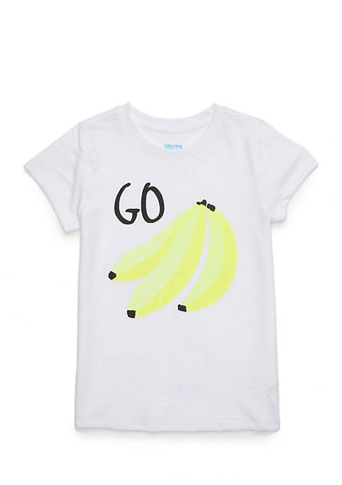 Lightning Bug Toddler Girls Short Sleeve Graphic Tee
