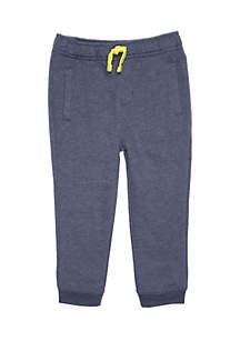 Toddler Boys Welt Pocket Knit Joggers