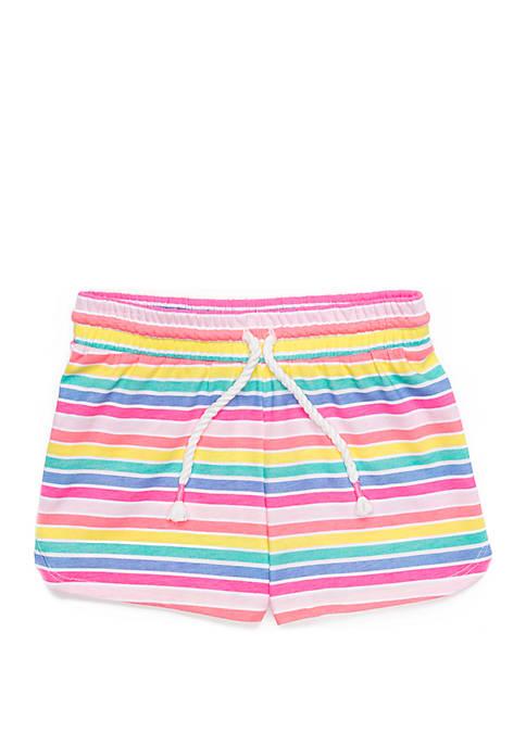 Toddler Girls Dolphin Hem Shorts