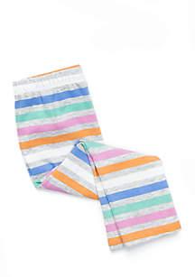 Girls Infant Striped Legging