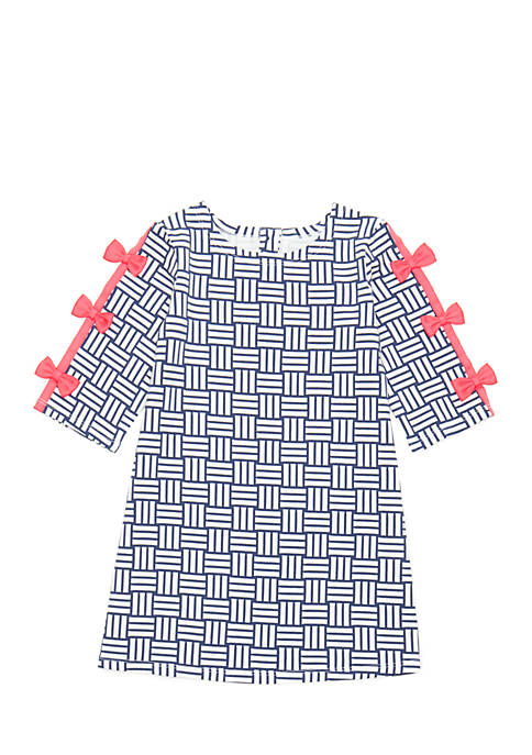 Crown & Ivy™ Toddler Girls Short Sleeve A-Line