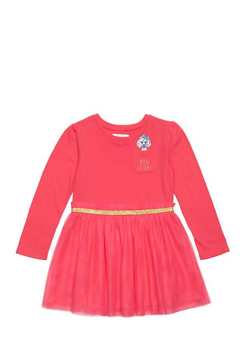 Crown & Ivy™ Toddler Girls Tulle Skirt Dress