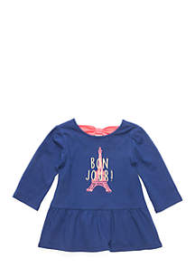 Toddler Girls Bow Back Top