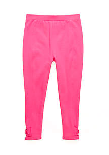 Crown & Ivy™ Girls 4-6x Bow Pants