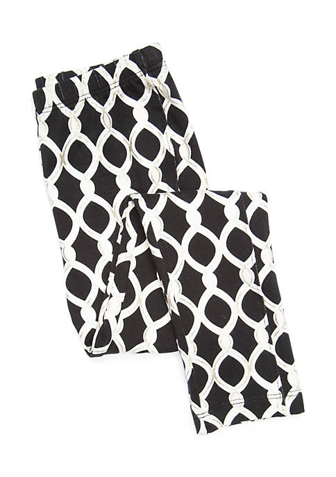 Crown & Ivy™ Toddler Girls Ruffle Leggings