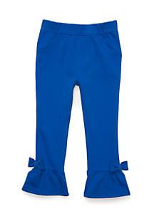 Girls 4-6x Ruffle Hem Pants