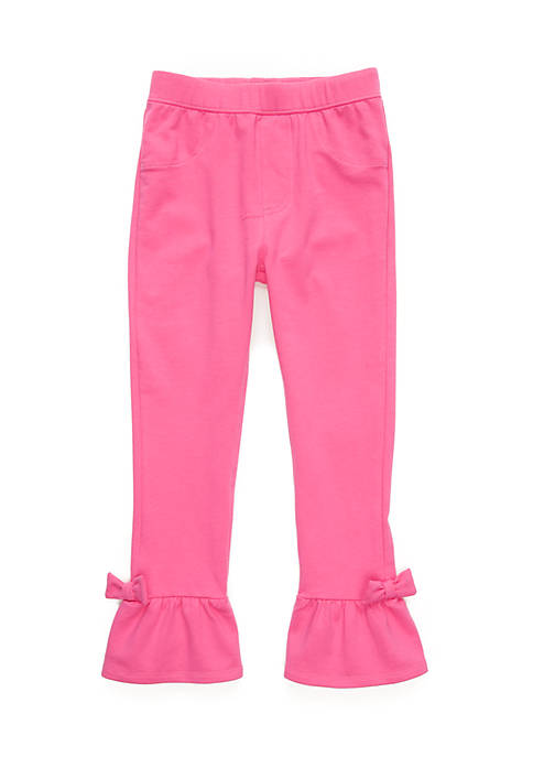 Crown & Ivy™ Girls 4-6x Ruffle Hem Pants