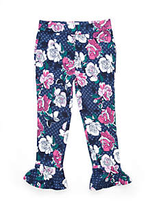 Girls 2-4 Bell Hem Pants