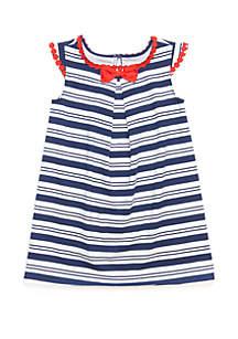 Crown & Ivy™ Toddler Girls Knit A Line Dress