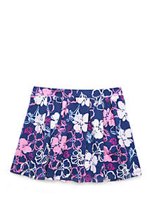 Crown & Ivy™ Toddler Girls Pleated Knit Skirt