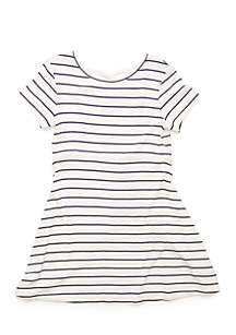 Toddler 4-6x Short Sleeve Skater Dress