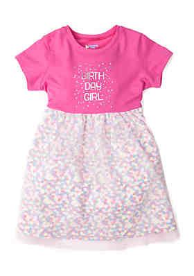 Lightning Bug Toddler Girls Tulle Birthday Dress