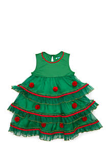 Toddler Girls Tree Dress