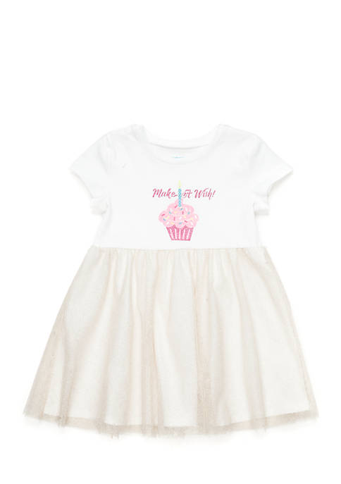 Lightning Bug Toddler Girls Birthday Dress