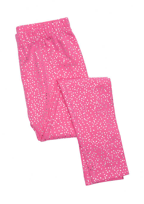 Lightning Bug Toddler Girls Basic Leggings
