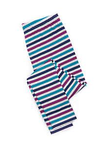 Toddler Girls Basic Stripe Leggings