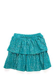 Toddler Girls 2-Tier Ruffle Skirt