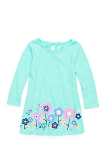 Baby Girls Long Sleeve A-Line Dress