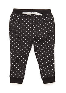 Infant Girls Printed Joggers