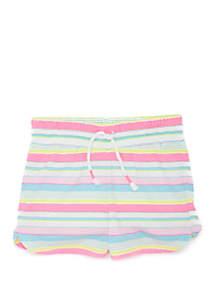 Lightning Bug Toddler Girls Pull On Shorts