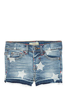 Infant Girls Star Denim Shorts