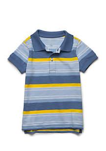 Stripe Polo Shirt Toddler Boys 4-7