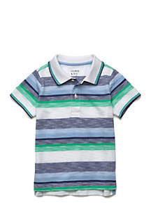 Stripe Polo Shirt Toddler Boys 4-7