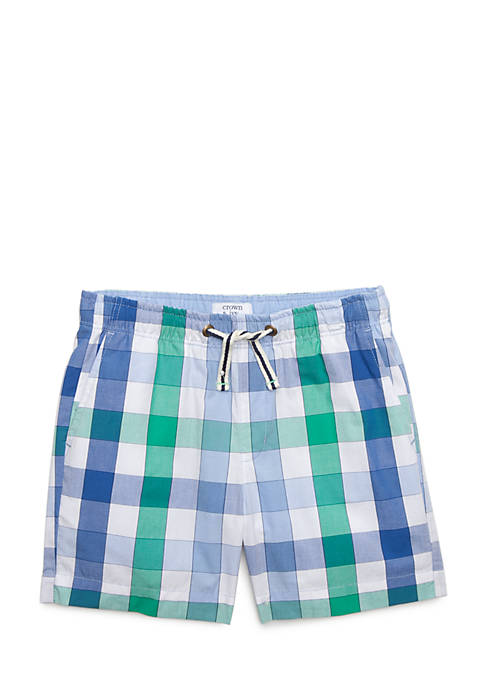 Crown & Ivy™ Stripe Pull-On Shorts Toddler Boys