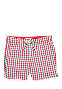Stripe Pull-On Shorts Toddler Boys