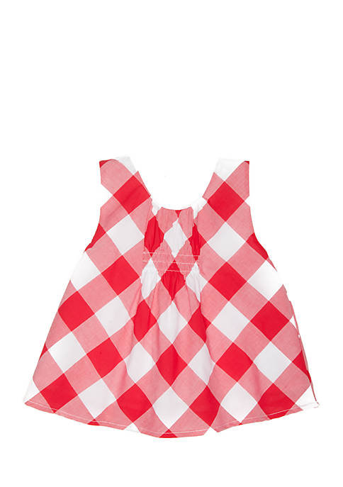 Crown & Ivy™ Toddler Girls Gingham Tank