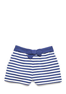 Stripe Short Toddler Girls