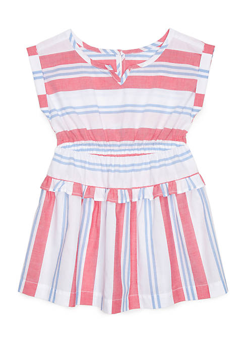 Crown & Ivy™ Striped Dress Toddler Girls
