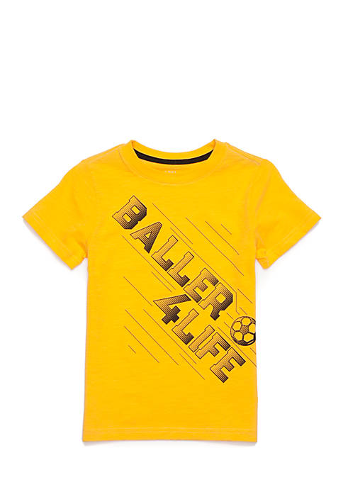 Lightning Bug Sports Graphic Tee Toddler Boys