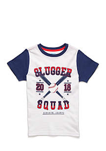 Sports Graphic Tee Toddler Boys