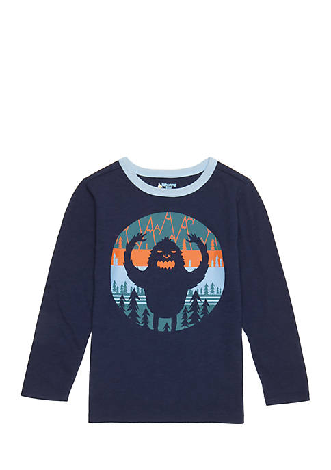 Lightning Bug Toddler Boys Long Sleeve Crew Neck
