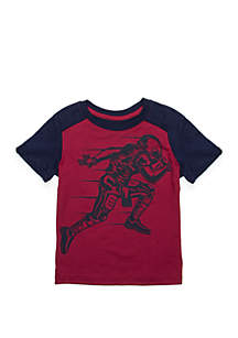 Toddler Boys Forward Shoulder Back Yoke Tee