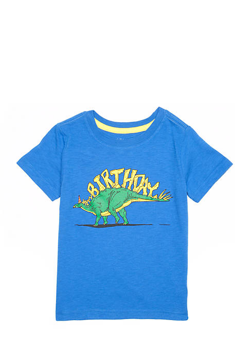 Lightning Bug Toddler Boys Short Sleeve Birthday Graphic