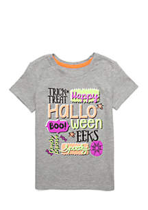 Toddler Girls Halloween Tee