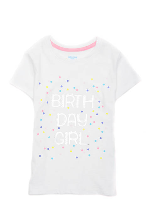 Lightning Bug Toddler Girls Bday Screen Tee