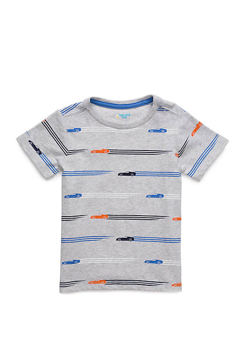 Lightning Bug Toddler Boys Short Sleeve Crew Neck