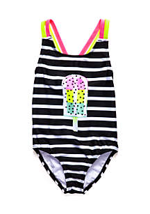 Popsicle One-Piece Swimsuit Toddler Girls