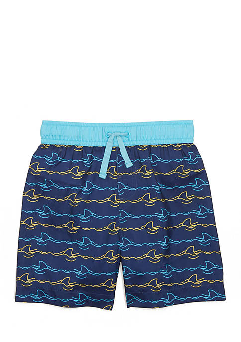 Lightning Bug Swim Trunk Toddler Boys