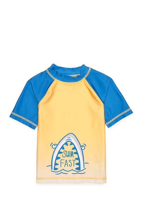 Lightning Bug Boys 4-10 Rashguard Swim Top