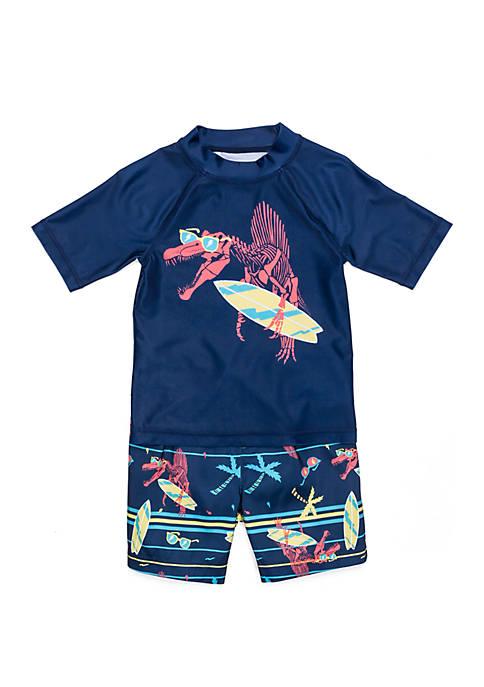 Lightning Bug Toddler Boys Swim Set