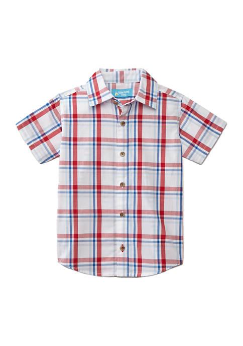Lightning Bug Toddler Boys Woven Shirt