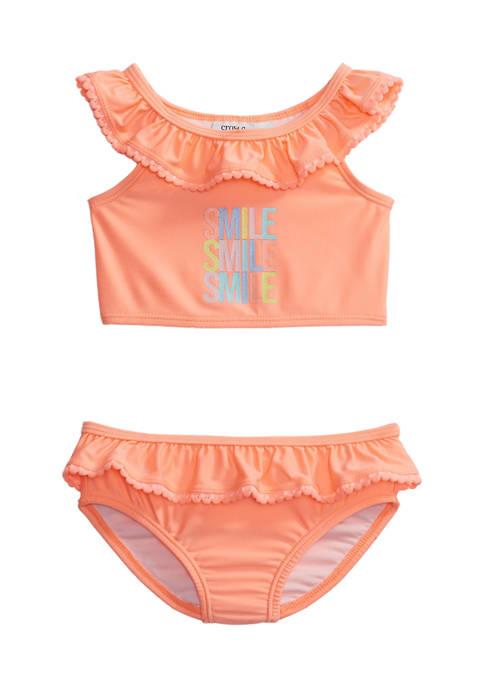 Crown & Ivy™ Baby Girls Ruffle 2 Piece
