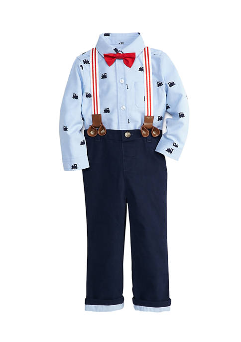 Crown & Ivy™ Baby Boys Oxford Shirt and