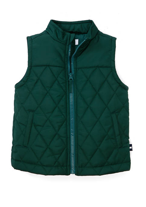 Crown & Ivy™ Toddler Boys Quilted Vest
