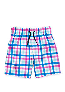 Crown & Ivy™ Toddler Boys Swim Trunks