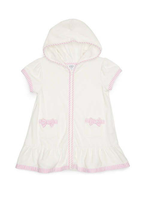 Crown & Ivy™ Toddler Girls French Terry Swim